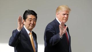 Абе и Тръмп подготвят съвместен натиск над КНДР в Г-20