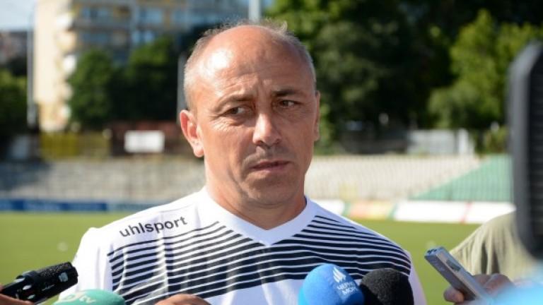 Илиан Илиев: Поздравявам футболистите си за играта и характера им днес