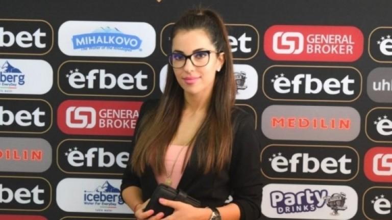Психоложката Илияна Димитрова, която се занимава със състезателите от детско-юношеската