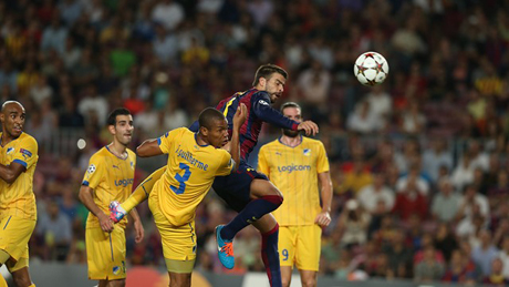 Пике: Не асоциирам футбола с нищо друго, освен с Барса
