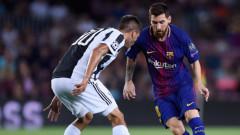 Барселона - Ювентус 3:0 (Развой на срещата по минути)