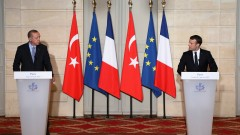 Макрон отряза Ердоган за турското членство в ЕС