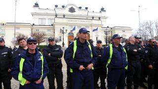 Протест пред НС с искане за пряка демокрация