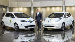 Renault-Nissan пуска 12 електромобила и робо-такси