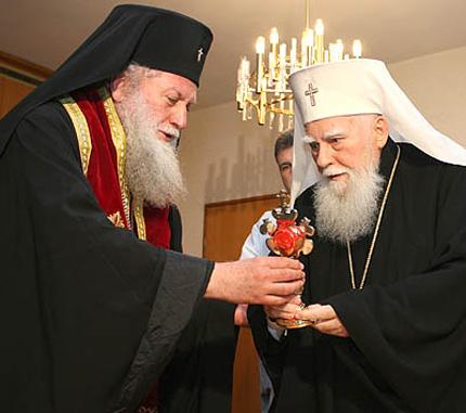 Патриарх Максим в Троянския манастир