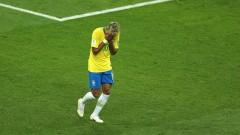 Неймар не тренира с отбора на Бразилия