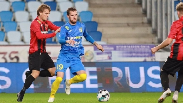 Антонио Вутов с втори гол за унгарския си клуб