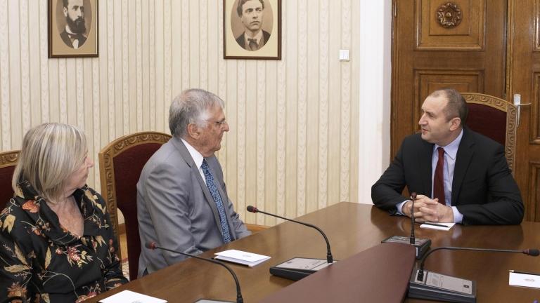 Носителят на Нобелова награда по химия проф. Дан Шехтман посети България