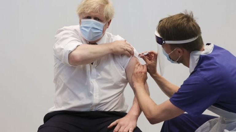 Борис Джонсън е с втора ваксинация срещу COVID-19