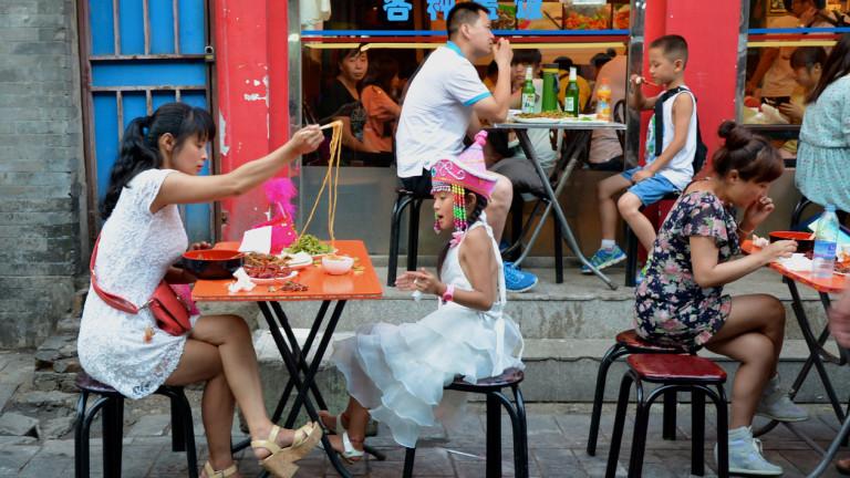 Китай иска от гражданите да намалят мазнините, захарта и солта
