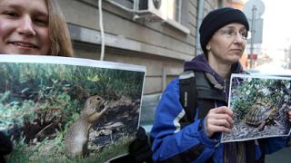 """Полиция озапти сблъсък на еколози с противници на """"Натура"""""""