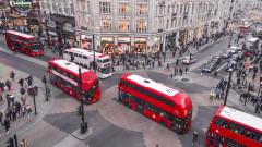 Икономиката на Великобритания неочаквано се сви за първи път от 2012 година