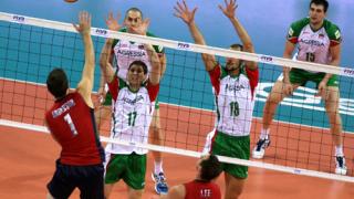 Националите по волейбол с тежка загуба от САЩ