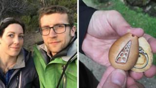 Жена носи годежния си пръстен, без да знае