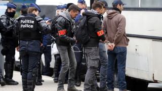 """Сблъсъци на протест на """"жълти жилетки"""" в Белгия"""
