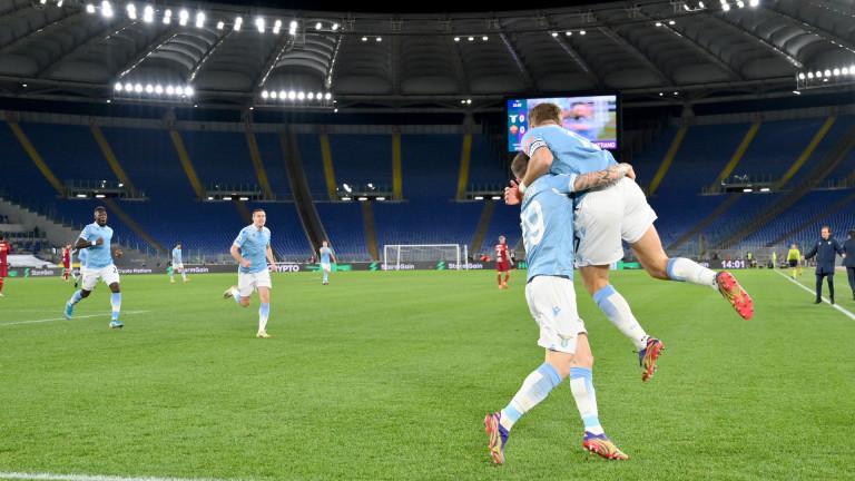 """Лацио е господарят на Рим, """"орлите"""" разбиха Рома"""