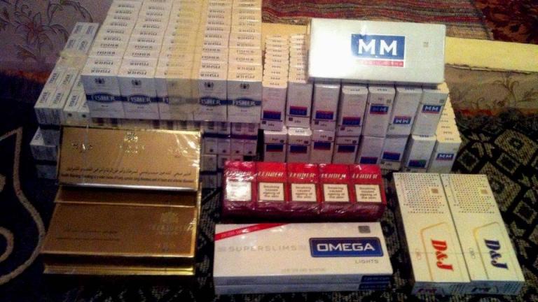 Конфискуваха 20 хил. къса цигари в Хасково