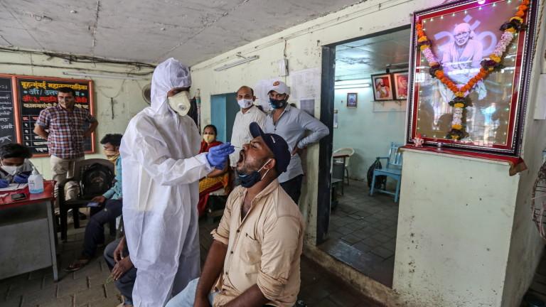 В Индия откриха нов щам на коронавируса с двойна мутация