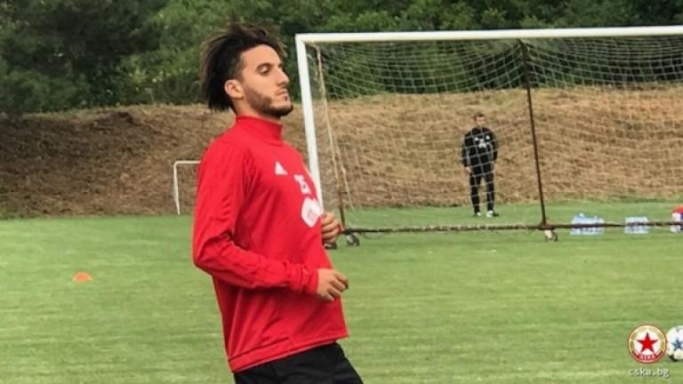 Халф на Бордо се присъдини към ЦСКА