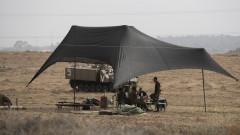 Израел разполага танкове и техника на границата с Газа