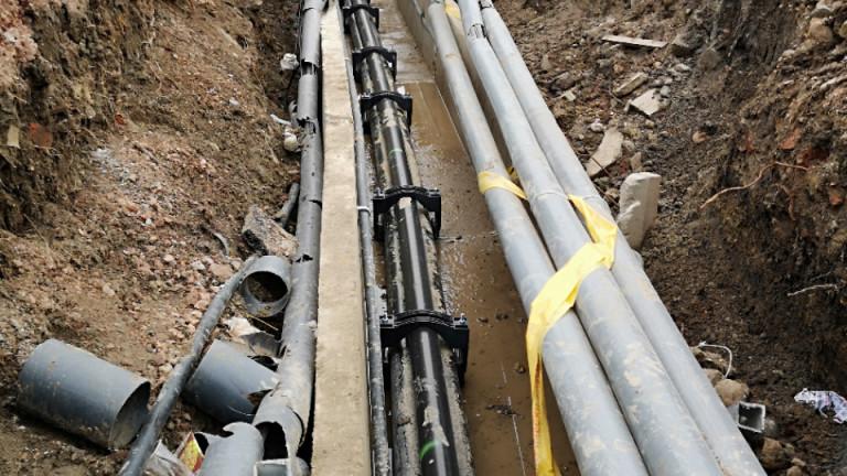 Сменят водопровода и канализацията на 130 улици в Русе