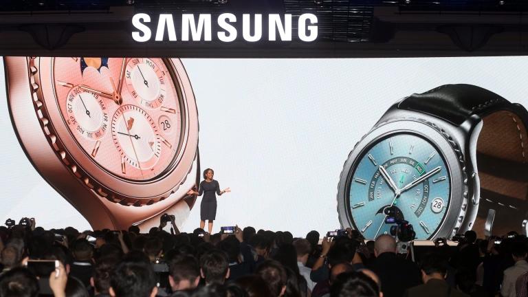 Корейският технологичен производител Samsung представи своите най-нови разработки, сред които