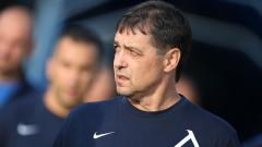 Хубчев: Червеният картон бе ключовият момент, какви ли не обрати са ставали във футбола