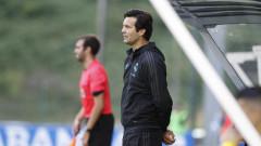 Сантиаго Солари с първа тренировка начело на Реал (Мадрид)