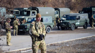 КФОР изпраща военна техника към Северно Косово