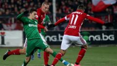 ЦСКА - Лудогорец 0:0 (Развой на срещата по минути)