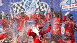 Кайл Ларсон спечели домашното състезание във Фонтана