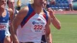 Гунев бяга 40 метра, вместо 200