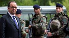 """Атаката в църквата е дело на """"Ислямска държава"""", обяви Оланд"""