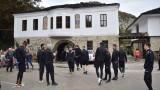 Футболистите на Локомотив (Пловдив) посетиха Дряновския манастир преди двубоя с Етър