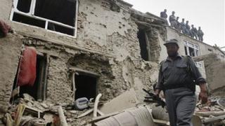 Петима талибани се самовзривиха в къща в Кабул