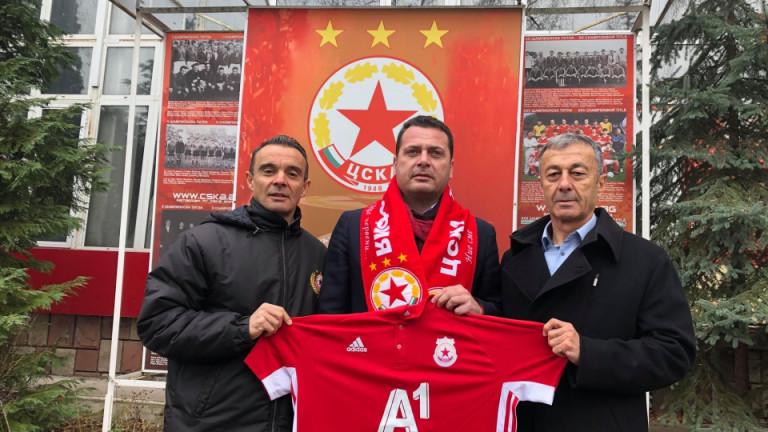 Бившето пресаташе на ЦСКА Иван Ченчев удържа на думата си