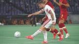 Рома - ЦСКА, Вилдсхут оставя отбора с човек по-малко