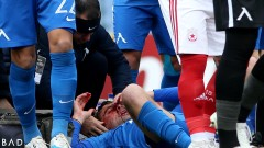 От Левски ще поръчат специална маска за Мартин Райнов