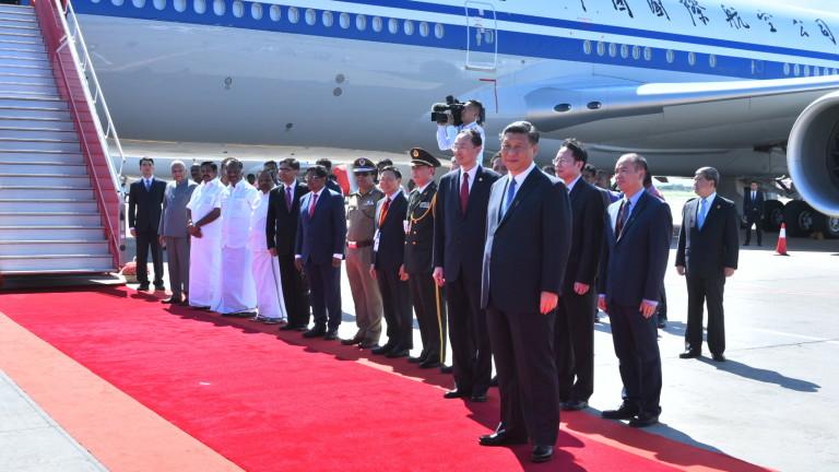 Президентът на Китай Си Дзинпин пристигна в Южна Индия за