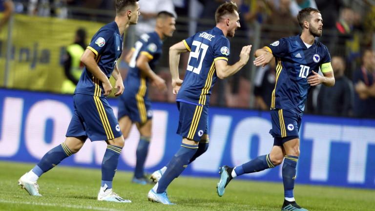 Снимка: Босна се върна в голямата игра с разгром над Финландия