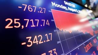 Борсовите индекси отчетоха най-скоростната си корекция надолу в историята