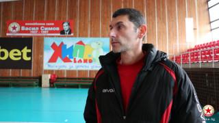 """Александър Попов: Благодаря на Красен Кралев, че разреши ремонт на зала """"Васил Симов"""""""