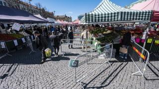 Швеция регистрира седмицата с най-висока смърност през XXI век