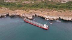 Подготвя се разтоварване на кораба Vera SU на ръка