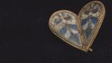 Златно сърце от средата на 10 век откриха при разкопки във Велики Преслав