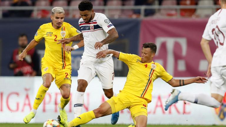 Румъния и Норвегия завършиха при резултат 1:1 в мач от