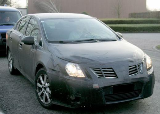 Новото поколение Avensis ще се появи през 2009