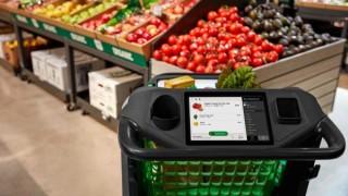Amazon разработва умна количка за пазаруване, която ще смята сама колко дължите