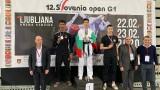 """15 медала за България от """"Словения Оупън"""""""