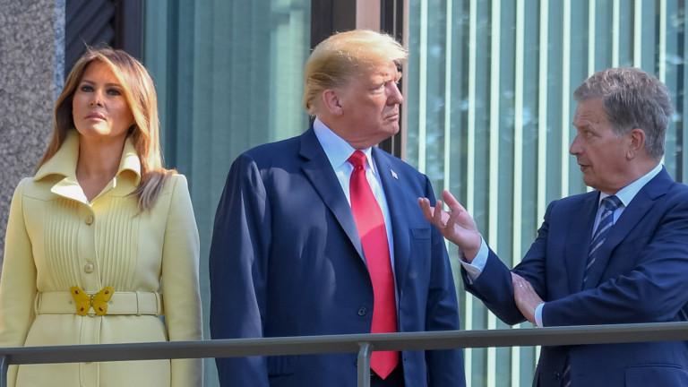Президентът на САЩ Доналд Тръмп и държавният глава на Русия